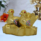 Divya Mantra Feng Shui Mandarin Ducks Colourful for relationship