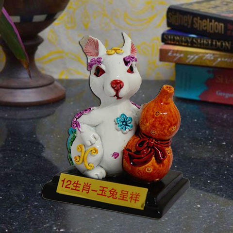 Divya Mantra Feng Shui Rabbit for health