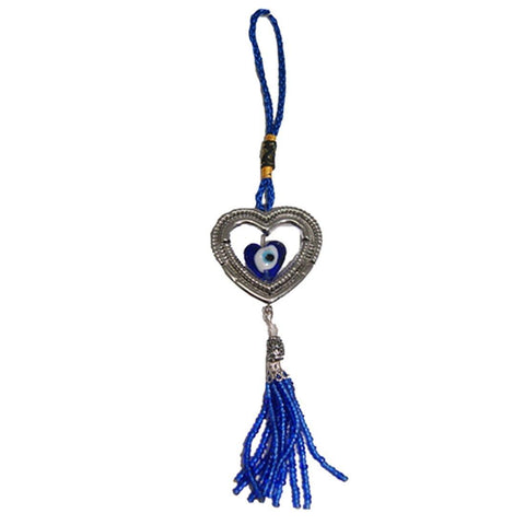 Divya Mantra Evil Eye Hanging with Heart - Divya Mantra