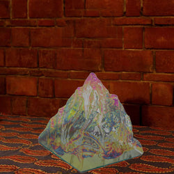 Divya Mantra Rock Crystal Pyramid For Healing - Divya Mantra