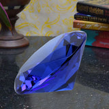Divya Mantra Feng Shui Crystal Diamond in Blue For Healing - Divya Mantra
