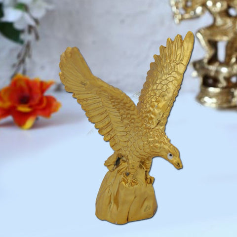 Divya Mantra Feng Shui Golden Eagle Spreading Wings for Success - Divya Mantra