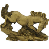 Divya Mantra Feng Shui Three Running Horses Showpiece Home Decor For Success And Growth - Divya Mantra