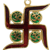 Divya Mantra Om Swastik Vastu Wall Hanging for Good Luck and Fortune - Divya Mantra