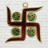 Divya Mantra OM Swastik Wall Hanging for Good luck and Fortune - Divya Mantra