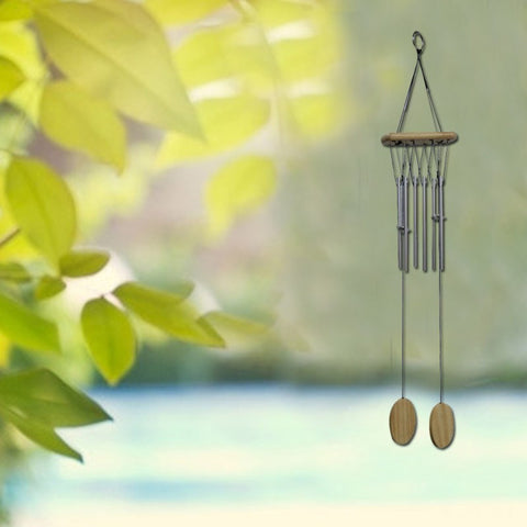Divya Mantra Feng Shui Vastu Wind Chime with 2 Hangings for Positive Energy - Divya Mantra