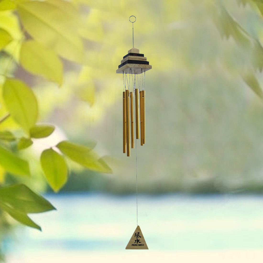 Image result for pyramid wind chime,nari