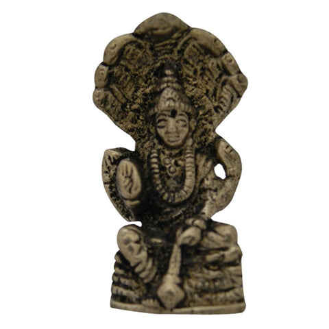 Divya Mantra Hindu God Lord Vishnu Idol Sculpture Statue Murti  2.5 Inches - Divya Mantra
