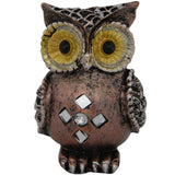 Divya Mantra Feng Shui Owl Showpiece Home Decor for Weath And Protection - Divya Mantra