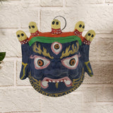 Divya Mantra Nazar Battu Mahakal Shiva Mask For Protection - Divya Mantra