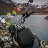 Divya Mantra Combo Of Set Of Two Tibetian Buddhist Prayer Flags For Motorbike - Divya Mantra