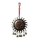 Divya Mantra Combo Of Vastu Hanuman Bell Hanging and Panchmukhi Hanuman Car / Wall Hanging - Divya Mantra