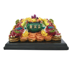 Divya Mantra Feng Shui Visiting Card Holder with Pen Stand - Divya Mantra