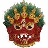 Divya Mantra Nazar Battu Evil Eye Mahakala Shiva Mask For Protection - Divya Mantra