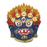 Divya Mantra Combo Of Nazar Battu Mask Wall Hanging and Evil Eye Hanging For Protection - Divya Mantra