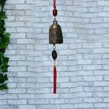 Divya Mantra Car Decoration Rear View Mirror Hanging Accessories Feng Shui Lucky Bell - Divya Mantra