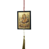 Divya Mantra Car Decoration Rear View Mirror Hanging Accessories Mahadev - Divya Mantra