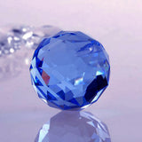 Divya Mantra Feng Shui Blue Crystal Ball Car / Wall Hanging - Divya Mantra