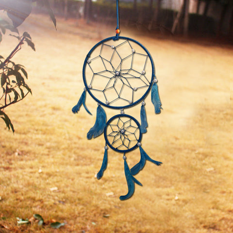 Divya Mantra Sky Blue Dream Catcher - Divya Mantra