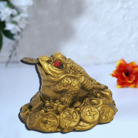 Divya Mantra Feng Shui King Money Frog For Prosperity - Divya Mantra