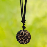 Divya Mantra Combo Of Two Tibetan Om Mani Padme Hum Mantra Pendant Necklace - Divya Mantra