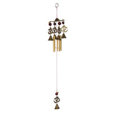 Divya Mantra Feng Shui Om 5 pipe Wind Chime for Home and Balcony - Divya Mantra
