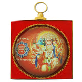 Divya Mantra Panchmukhi Hanuman Wall Hanging For Good Luck and Protection From Evil Eye - Divya Mantra