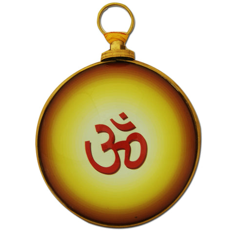 Divya Mantra Hindu Symbol Om for Good Luck, Fortune and Meditation - Divya Mantra