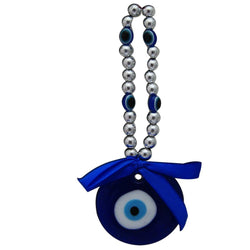 Divya Mantra Car Decoration Rear View Mirror Hanging Accessories Evil Eye Amulet - Divya Mantra