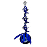 Divya Mantra Three Ganesha Head Evil Eye Protection Amulet Car / Wall Hanging - Divya Mantra