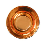 Divya Mantra Copper Bowl (Vati) For Hindu Rituals and Pooja - Divya Mantra