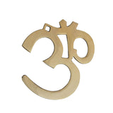 Divya Mantra Hindu Lucky Symbol Om Pure Brass Wall Hangings For Vastu, Yoga and Meditation - Divya Mantra