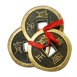 Divya Mantra Feng Shui Chinese Lucky Fortune Dragon Coin Jai Jinendra Jain Home Wall Decor Hindi Sticker Entrance Door Symbol Pooja Items Decorative Showpiece Interior Decoration - Multi - Set of 2