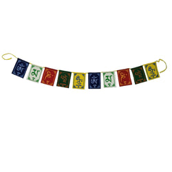 Divya Mantra Premium Quality Tibetan Buddhist Prayer Flags For Car / Motorbike - 3 Feet Multicolor