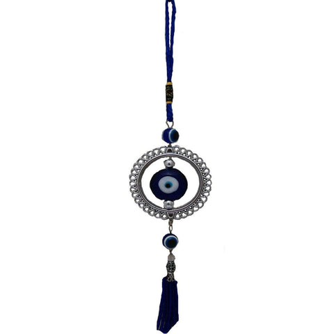 Divya Mantra Car Decoration Rear View Mirror Hanging Accessories Feng Shui Evil Eye Ring Amulet For Protection - Divya Mantra