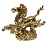 Divya Mantra Feng Shui Galloping / Running Horse For Fame Recognition, Power, Prestige and Good Luck