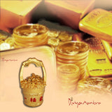 Divya Mantra Feng Shui Gold Ingot Yuan Bao Overflowing Wealth Bucket Pot For Abundance Financial Prosperity Luck - Divya Mantra