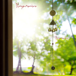 Divya Mantra Feng Shui Fengling Metal Windchime For Good Luck - Divya Mantra