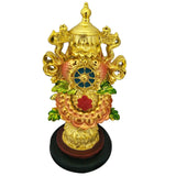 Divya Mantra Feng Shui Chinese Rashi & Tibetan Efficacious Protection Nepal Buddhism Eight 8 Auspicious Good Luck Symbols Prayer Statue - Divya Mantra