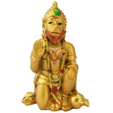 Divya Mantra Hindu God Hanuman Idol Sculpture Statue Murti For Puja / Car Dashboard / Gift - Divya Mantra