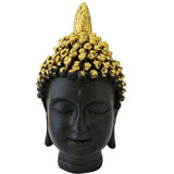 Divya Mantra Meditating Gautam Buddha Head Murti Sculpture Statue Puja / Car Dashboard Idol For Peace and Serenity - Divya Mantra