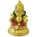 Divya Mantra Feng Shui Tibetan Wealth God Jambhala Kubera For Success and Abundance - Multicolor - Divya Mantra