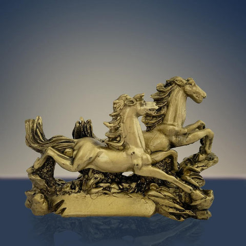 Feng Shui Running Horse for Fame Recognition, Power, Prestige, Career Luck, Success and Good Luck - Divya Mantra