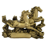 Feng Shui Running Horse for Fame Recognition, Power, Prestige, Career Luck, Success and Good Luck
