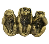 Divya Mantra Three Monkey Principles Showpiece