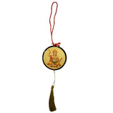 Divya Mantra Sri Bajrang Bali Hanuman Talisman Gift Pendant Amulet for Car Rear View Mirror Decor Ornament Accessories/Good Luck Charm Protection Interior Wall Hanging Showpiece