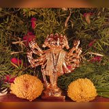 Divya Mantra Sri Hindu God Panchmukhi (Five Faced) Hanuman Idol Sculpture Statue Murti - Puja/ Pooja Room, Meditation, Prayer, Office, Business, Temple, Home Decor Lucky Gift Collection Item/ Product - Divya Mantra