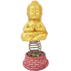 Divya Mantra Dashboard Gautam Buddha For Peace Showpiece, Collection Figurines, Car Decoration - Divya Mantra