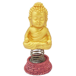 Divya Mantra Dashboard Gautam Buddha Showpiece, Collection Figurines, Car Decoration - Divya Mantra