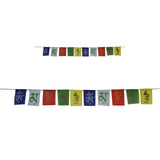 Divya Mantra Combo Of Tibetian Buddhist Prayer Flags For Motorbike And For Home - Divya Mantra